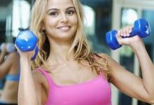 Ženy a cvičení  v posilovně