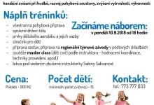 Dětský aerobik pro děti 4-12 let