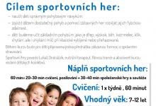 Sportovní hry pro děti 7-12 let