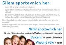 Sportovní hry pro děti